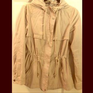 H&M tan cargo jacket!